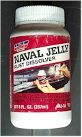 Naval Architecture on Chemical Rust Treatment Comparisons